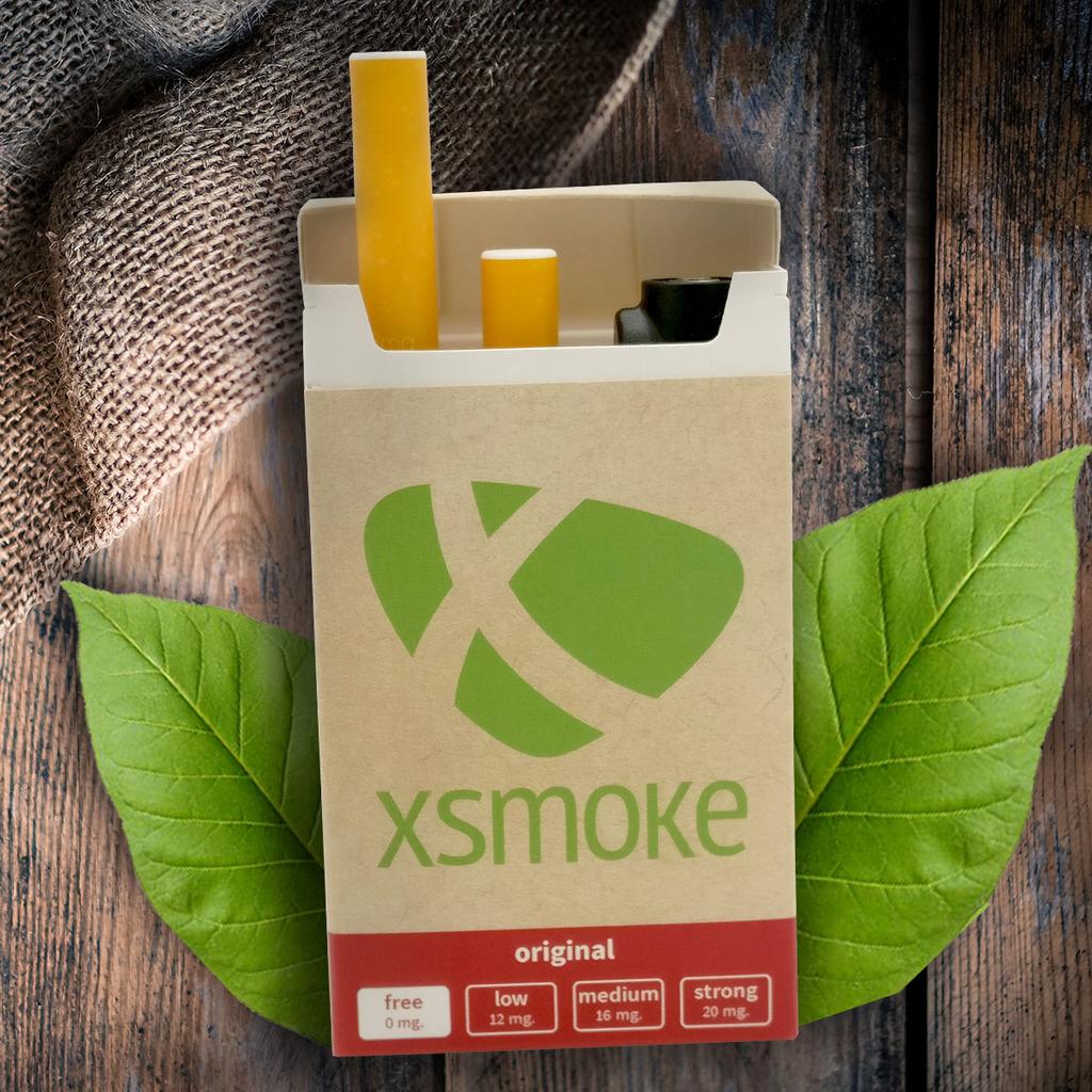 E-væske med tobak smag i e-cigaret