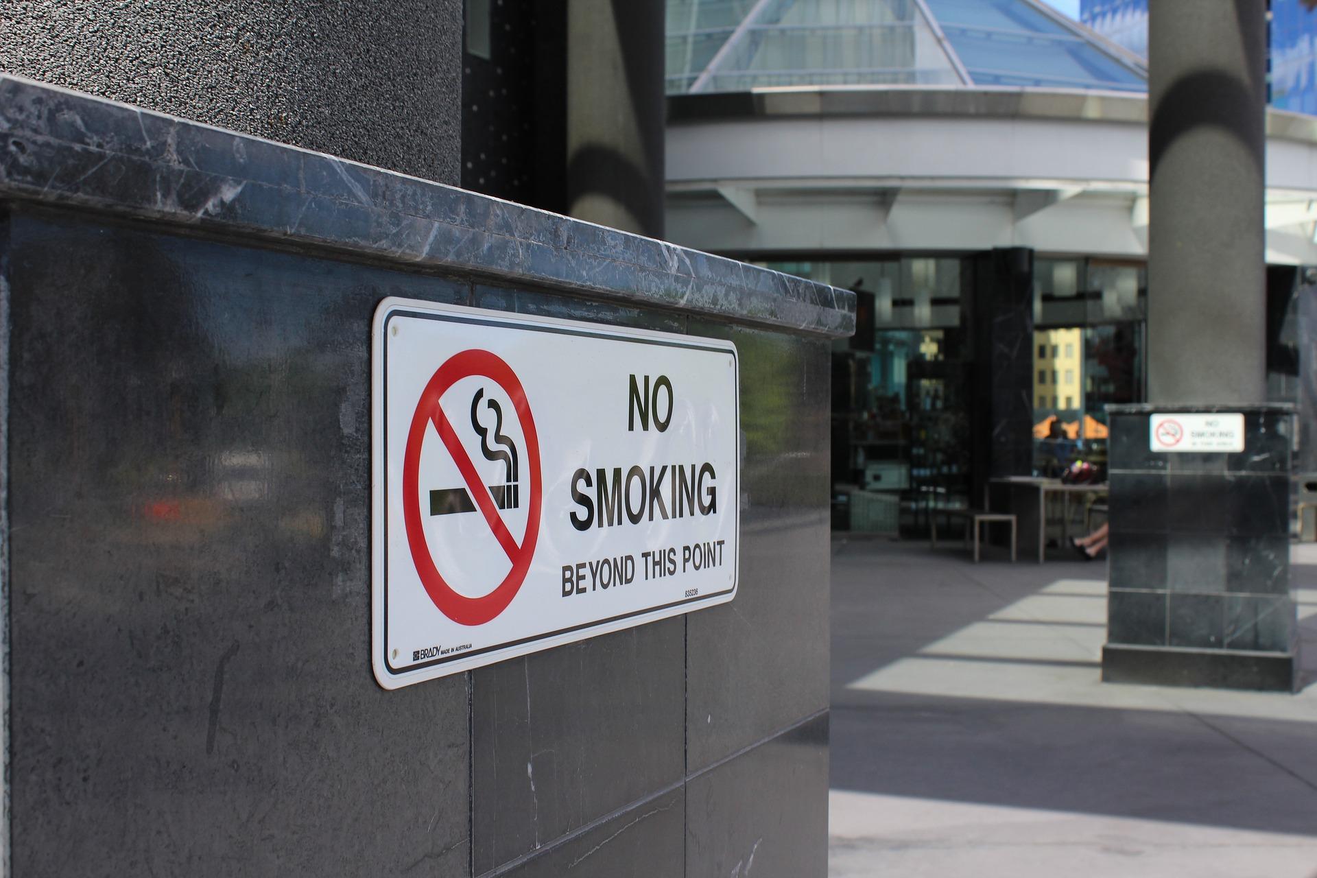 e-cigaretter på offentliga platser